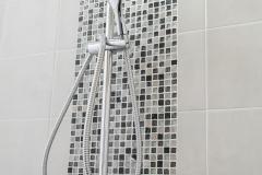 Luxury modern shower bathroom interior